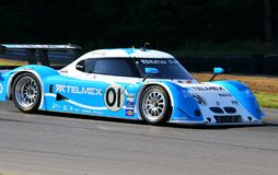 Scott Pruett races the BMW Stock Photos