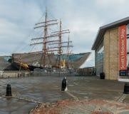 Scott ` s statku odkrycie Dundee Zdjęcia Royalty Free