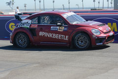 Scott Speed 41, drives a Volkswagen Beetle car, during the Red B Stock Photo