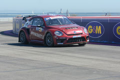 Scott Speed 41, drives a Volkswagen Beetle car, during the Red B Stock Images