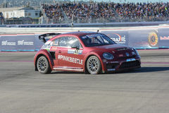 Scott Speed 41, drives a Volkswagen Beetle car, during the Red B Stock Photography