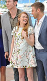 Scott Speedman & Mireille Enos Stock Photos