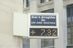 Scott & Stringfellow  Inc. sign Stock Photo