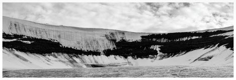 Scott Turnerbreen Glacier, Svalbard Royalty Free Stock Photo