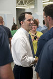 Scott Walker, Wisconsin State Governor Stock Photography