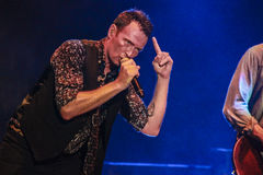 Scott Weiland Stone Temple Pilots Royalty Free Stock Photography