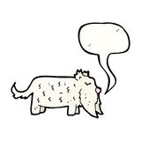 Scottie dog cartoon Stock Photography