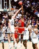 Scottie Pippen, Chicago Bulls. Chicago Bulls superstar Scottie Pippen #33. (Image taken from color slide Royalty Free Stock Photos