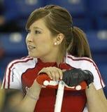 Scotties curling lawes broom Royalty Free Stock Photos