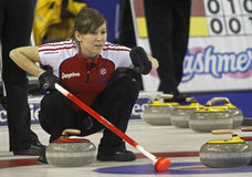 Scotties curling lawes waves Stock Photography