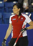 Scotties curling officer Stock Images