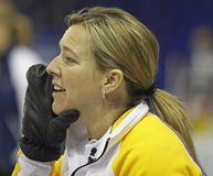 Scotties curling overton-clapham hand Stock Photo