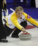 Scotties curling overton-clapham stone royalty free stock photography