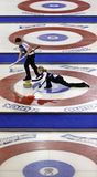 Scotties curling smith-dacey sheets royalty free stock image