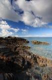 scottish гористой местности пляжа Стоковое Изображение RF