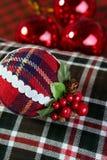 scottish картины украшения рождества шарика Стоковая Фотография