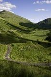 scottish ландшафта гористой местности Стоковое Изображение RF