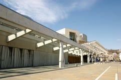 scottish парламента здания Стоковые Изображения RF