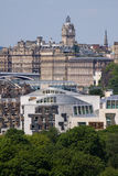 scottish парламента edinburgh города Стоковое Фото