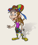 scottish ребенка счастливый Стоковое Изображение RF