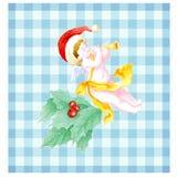 scottish рождества ангела Стоковая Фотография RF