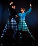 scottish танцульки стоковое фото