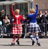 scottish танцульки стоковые изображения