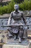 The Scottish American Memorial in Edinburgh Royalty Free Stock Photo