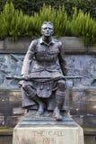 Scottish American Memorial in Edinburgh Stock Photo