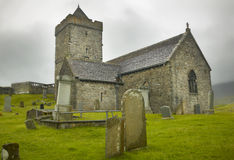 Scottish antique church in Harris isle. St. Clement. Scotland. U Royalty Free Stock Images