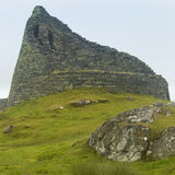 Scottish antique stone construction, broch. Carloway. Lewis isle Royalty Free Stock Photos