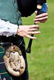 Scottish bagpipe Stock Photography