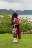 Scottish bagpiper Royalty Free Stock Photo