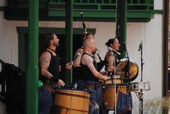 Scottish Band at the Pa Ren Fair 2011. A Scottish Band at the Pennsylvania Renaissance Fair 2011 Stock Photography