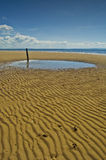 Scottish Beach Landscape stock photos