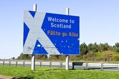 Scottish border Stock Photography
