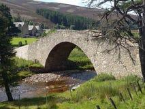 Scottish Bridge. View of a bridge over a Scottish River Royalty Free Stock Photography