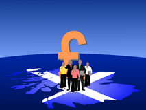 Scottish business team Stock Images