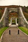 Scottish canal bridge royalty free stock photography