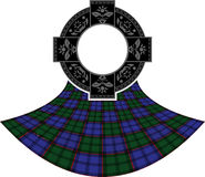 Scottish celtic ring Royalty Free Stock Photos