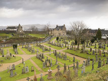 Scottish Cemetery in Stirling (Scotland) Royalty Free Stock Photography