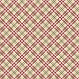 Scottish checked ornament seamless pattern Stock Images