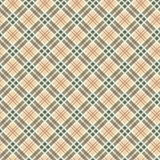 Scottish checked ornament seamless pattern Royalty Free Stock Image