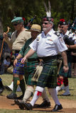 Scottish Chieftan royalty free stock photos