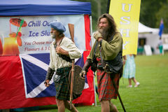 Scottish clan. Royalty Free Stock Photo