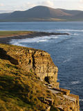 Scottish cliff shores. Beautiful landscape of Scottish cliff shores Royalty Free Stock Photos