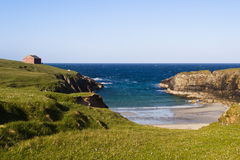 Scottish cliffs Royalty Free Stock Photography