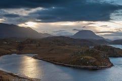 Scottish Coastal features Stock Image