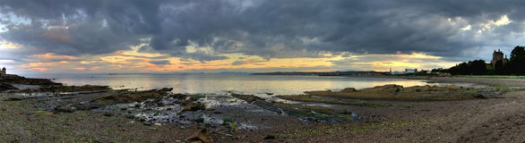 Scottish coastal landscape Royalty Free Stock Images