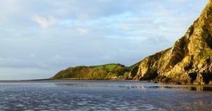 Scottish costal cliffs Stock Image
